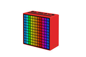 Darty Bourg En Bresse by Enceinte Bluetooth Sans Fil Divoom Timebox Rouge 4309383 Darty