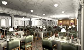 titanic first class dining room titanic 1st dining saloon i by hudizzle on deviantart