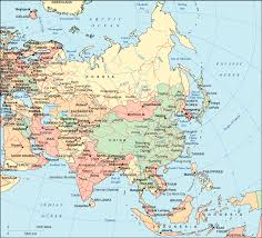 map of asai map of asia asia maps and geography