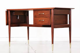 Mid Century Desk Mid Century Expanding Drop Leaf Desk By Lane Vintage Supply Store