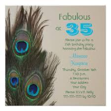 35th birthday invitations u0026 announcements zazzle canada