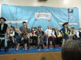 the musical singing a pirate song musical and costume