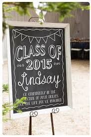 graduation signs custom chalkboard digital sign for senior by muchtoographic