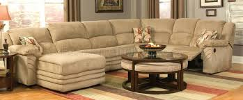 Sleeper Sectional Sofa With Chaise Sectional Sectional Sofa With Recliner And Queen Sleeper