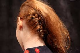 braids with bald hair at the bavk to create the illusion of shaved sides syfu braided hair back in