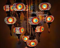 Mosaic Pendant Lighting by Turkish Mosaic 15 Globe Chandelier U2013 Lamptastic