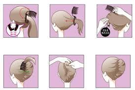 hair bun clip aliexpress buy diy formal hair styling updo bun comb and