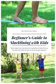 a beginner u0027s guide to backyard slacklining with kids