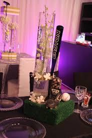 baseball wedding table decorations baseball centerpieces davinci florist