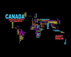 Map Wallpaper Words Wallpapers 4usky Com
