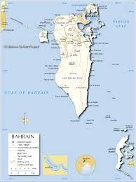 Political Map Asia by Political Map Of Bahrain Nations Online Project