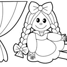 coloring baby doll kids drawing coloring pages marisa