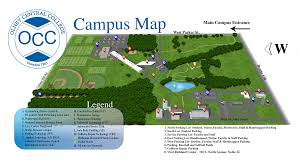 Baseball Map Iecc Maps U0026 Driving Directions Olney Central College Campus Map