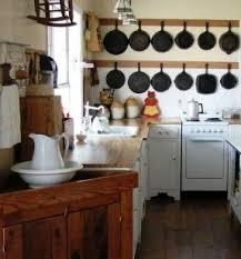 Kitchen Hanging Pot Rack by Cast Iron Hanging Pot Rack Foter