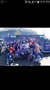 fan van party bus ny giants fans unite on twitter the merging of the gfambulance