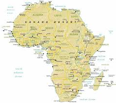Morocco Africa Map by Map Of Africa By Phonebook Of Africa Com