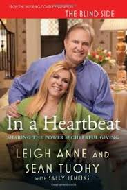 Blind Side Book Review Nonfiction Book Review In A Heartbeat Sharing The Power Of