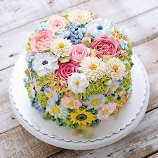 Where To Buy Edible Flowers - best 25 flower cakes ideas on pinterest buttercream flower cake