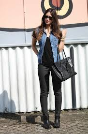 20 style tips on how to wear denim vests ideas gurl com