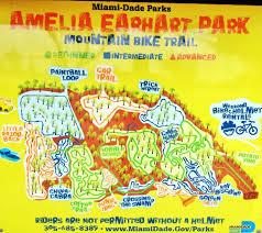 Hialeah Florida Map by Amelia Park Mountain Bike Trail Mountain Biking 401 E 65th St
