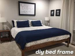 Bed Frame Build How To Build A Bed Frame