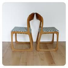 chaise traineau baumann paire de chaises traineau baumann