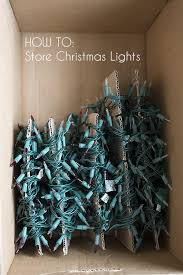 how to store christmas lights fun and fabulous christmas hacks christmas lights store and