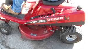 craftsman craftsman 13 5 hp 30 inch mid engine riding lawnmower youtube