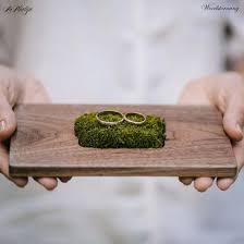 wedding ring holder baseball themed ring holder