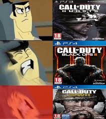 Call Of Duty Memes - call of duty games samurai jacks off meme by josael281999 on deviantart