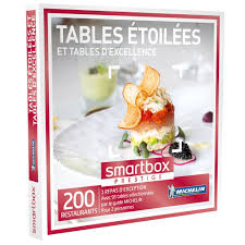 coffret cadeau cours de cuisine coffret cadeau tables étoilées et tables d excellence smartbox