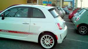 Fiat 500 Abarth White White On White 2012 Fiat 500 Abarth Leno S La Garage