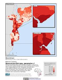 Mozambique Map Maps Poverty Mapping Sedac