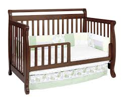 Toddler Bedding For Convertible Cribs by Furniture Dazzling Unique Brown Wood Davinci Kalani 4 In 1