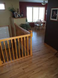 hardwood in the split level home a project blog natural accent