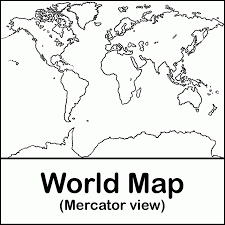 world map black and white with country names pdf dltk coloring pages world map 493253