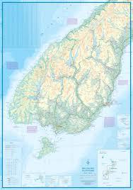 Map New Zealand New Zealand South Island Travel Map Itm U2013 Mapscompany