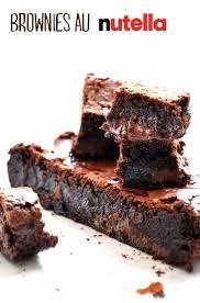 Brownies By Hervé Cuisine Http Brownies Au Nutella Mathilde En Cuisine