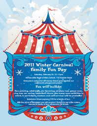 Family Day Invitation Card Ihms Online 2011 Winter Carnival Family Fun Day Saturday