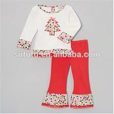 newest little girls western wear christmas casual wear