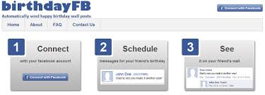 how to auto post happy birthday wishes on facebook friend u0027s wall