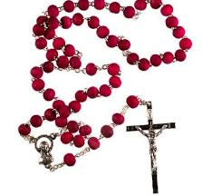 rosary from the vatican rosewood rosary scented rosary rosary s