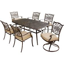 Patio Dining Sets For 4 by Hanover Traditions7pcsw Traditions Series 7 Piece Patio Dining Set