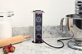 marvelous unique kitchen counter outlets get outlets out of site