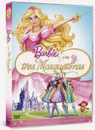 Barbie y las tres mosqueteras  (2009) [Latino]