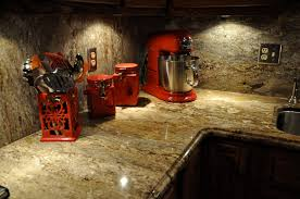 Countertop Options For Kitchen by This Granite Countertop Shows Butcher Block Countertops Venetian