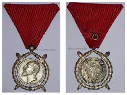 bulgaria ww1 royal merit swords bravery tsar ferdinand