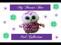 beanie boo kingdom beanie boo owl collection