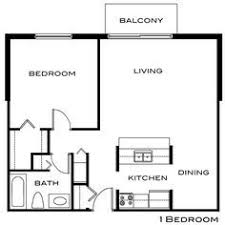 500 Sq Ft Studio Floor Plans One Bedroom Apartment Floor Plan 500 Sq Ft Google Search