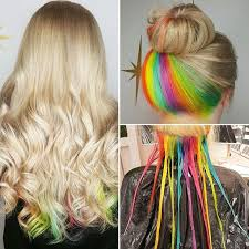 25 best ideas about highlights underneath on pinterest best 25 rainbow hair highlights ideas on pinterest colored hair